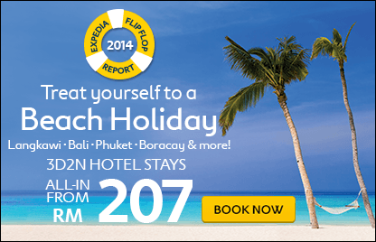 Treat yourself to a Beach Holiday, 3D2N Hotel Stays