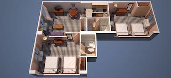 Quality Suites - The Royale Parc Suites - Kissimmee, FL 34746 - Guestroom