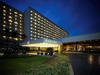 Sofitel Philippine Plaza Manila Hotel Front - Evening/Night