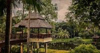 Upper Rice Terrace Pavilion king bed