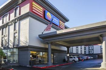 西雅圖塔科瑪機場凱富套房飯店