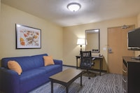Suite, 1 King Bed, Refrigerator & Microwave