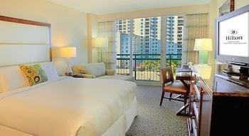 Hilton Singer Island Oceanfront/Palm Beaches Resort - Singer Island, FL 33404 - Guestroom
