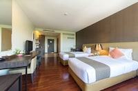Deluxe Room, 1 Double or 2 Single Beds - Room only Non refundable