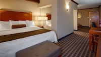 Suite, 1 King Bed, Non Smoking, Refrigerator & Microwave (Oversized Room;with Sofabed)