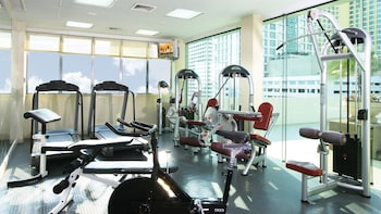 Pan Pacific Manila Fitness Facility