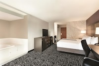 Room, 1 King Bed, Jetted tub & Refrigerator/Microwave
