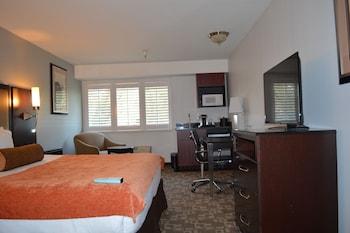 Crestview Hotel - Mountain View, CA 94040 - Guestroom