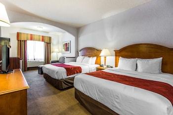 Comfort Suites Stevenson Ranch - Stevenson Ranch, CA 91381 - Guestroom