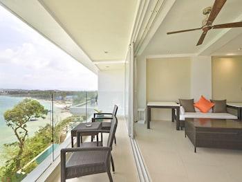 Karuna Boracay Suites Living Area