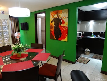 Manila Bay Serviced Apartments Living Area