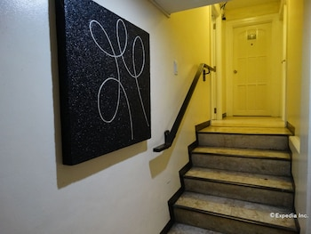 Ralph Anthony Suites Manila Staircase