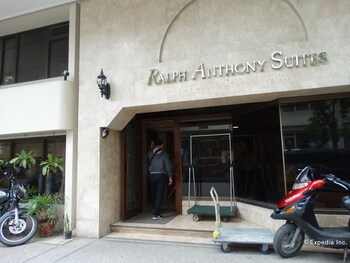 Ralph Anthony Suites Manila Hotel Entrance