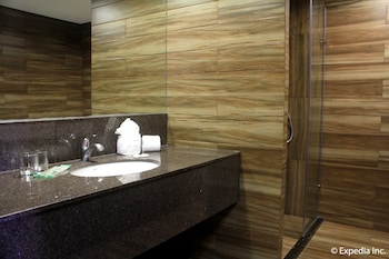 Newton Plaza Hotel Baguio Bathroom