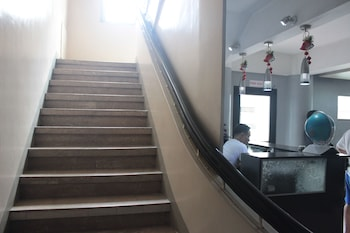 P Hostels and Residences Manila Staircase