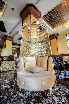 Luneta Hotel Manila Lobby Sitting Area