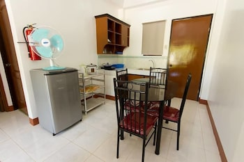 A Family Apartelle Bohol In-Room Kitchen