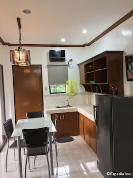 A Family Apartelle Bohol In-Room Kitchenette