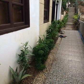 Raje Residence El Nido Courtyard