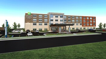 Holiday Inn Express & Suites East Peoria - Riverfront - East Peoria, IL 61611 - Exterior