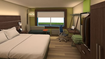 Holiday Inn Express & Suites East Peoria - Riverfront - East Peoria, IL 61611 - Guestroom