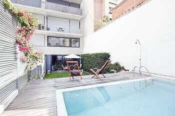My Space Barcelona Private Pool Garden