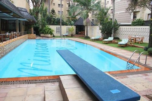含羞草庭院公寓飯店