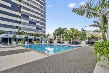 松德爾椰林時髦 1 房飯店