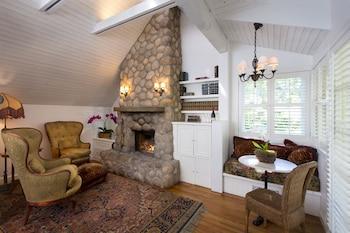 Simpson House Inn - Santa Barbara, CA 93101 - Living Area
