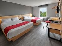 Habitación estándar, 2 camas dobles
