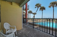 Double Room, 2 Double Beds, Kitchen, Beachside