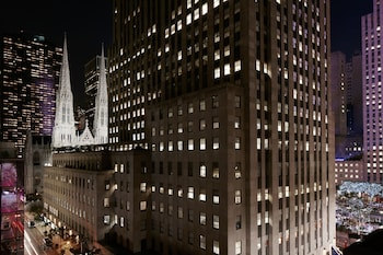 Club Quarters Hotel, opposite Rockefeller Center