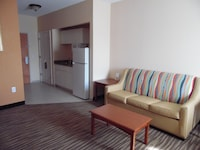 Suite, 1 King Bed, Refrigerator