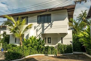 白色私人游泳池 3 房別墅飯店