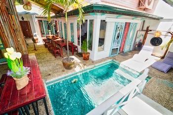 浪漫泳池別墅飯店