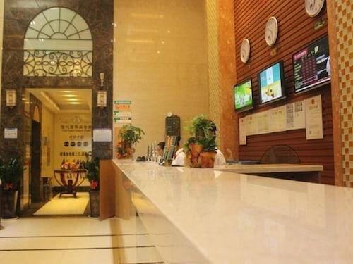 格林豪泰廣東省深圳市橫崗文體廣場賢樂路貝殼酒店