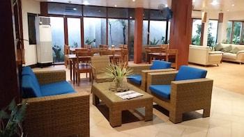 Boracay Beach Club Lobby Sitting Area