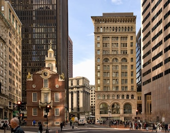 The Ames Boston Hotel Curio Collection By Hilton