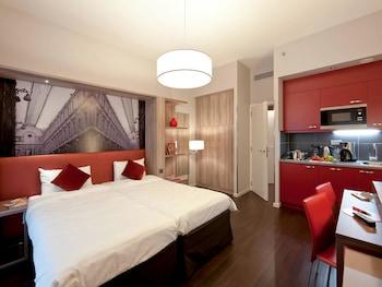 阿德吉奧布魯塞爾中心莫內公寓飯店