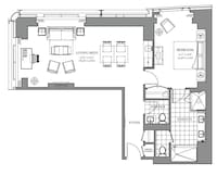 Deluxe Suite, 1 Bedroom (Grand)
