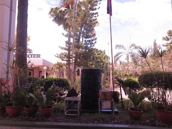 The Ritz Hotel at Garden Oases Davao Hotel Entrance