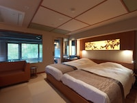 [KOMOREBI] Japanese Style Twin Bed room with Jet Bath, Non-Smoking