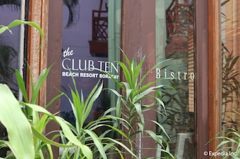 The Club Ten Beach Resort Boracay Exterior detail