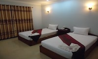 Deluxe Twin Room, 2 Queen Beds, City View (Free one-way airport pick up)