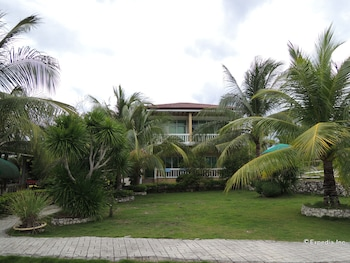 Moalboal Beach Resort Property Grounds