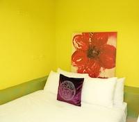 Mezzanine Room (E, 2 Double Beds) - No Amenity & No Breakfast