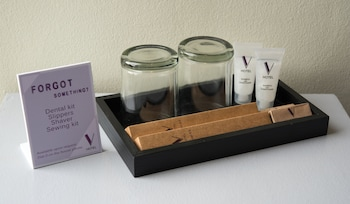V Hotel Bathroom Amenities