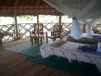 Bungalow, Shared Bathroom (Fale with Fan)