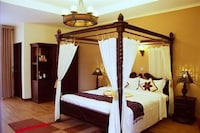Deluxe Double Room Pool Size