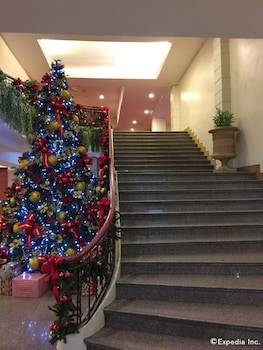 The Metrocentre Hotel and Convention Center Bohol Staircase
